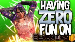 Having Zero Fun On Black Ops 4 (COD BO4 LIVE)