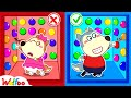 Wolfoo Learns Colors for Kids with 100 Mystery Buttons but Only One Lets You Escape | Wolfoo Channel