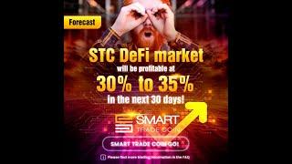 +25% в биткоине  Отчет по DeFi инвестициям от Smart Trade Coin