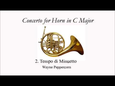 Peppercorn Horn Concerto in C Major: 2. Tempo di Minuetto