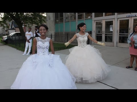 Diamond and Zaria Sweet 16