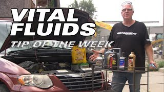 Why They Call Them Vital Fluids - Motoring TV