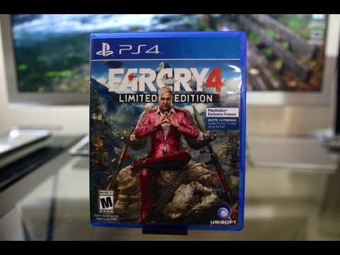far cry 4 limited edition unboxing ps4 farcry 4 youtube. Black Bedroom Furniture Sets. Home Design Ideas