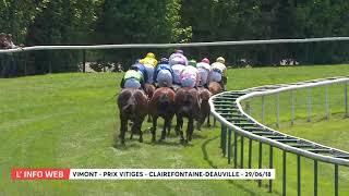 Vidéo de la course PMU PRIX VITIGES