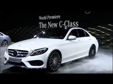 world premiere new mercedes c class at naias 2014 youtube. Black Bedroom Furniture Sets. Home Design Ideas