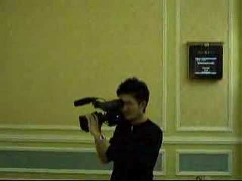 Video Cameraman Casino Affiliate Convention 2007 Macao