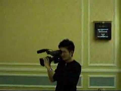 Video Cameraman Casino Affiliate Convention 2007 Macao