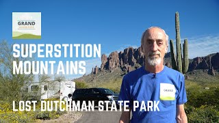 Ep. 146: Superstition Mountains - Lost Dutchman State Park | Arizona RV travel camping