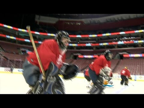 Florida Panthers Hold Goal Of A Lifetime Goalie Tryout