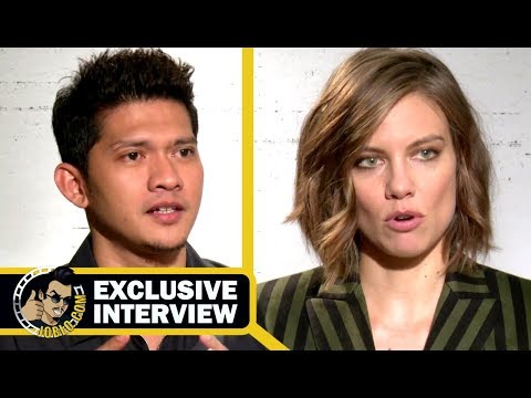 MILE 22 Exclusive Lauren Cohan & Iko Uwais  2018 JoBlo