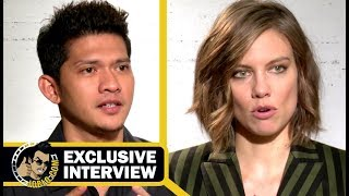 MILE 22 Exclusive Lauren Cohan & Iko Uwais Interview (2018) JoBlo
