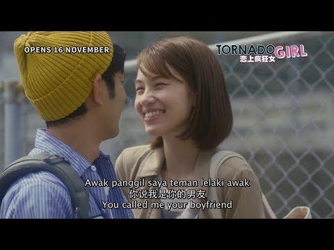 TORNADO GIRL 恋上疯狂女 - 60s TV Spot - Opens 16 Nov in Malaysia