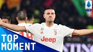 Merih Demiral's First Juventus Goal! | Roma 1-2 Juventus | Top Moment | Serie A TIM
