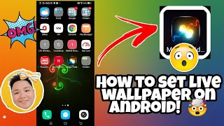 HOW TO SET UP A LIVE WALLPAPER USING MAGIC FLUID ON ANDROID PHONES!  #TUTORIAL screenshot 2