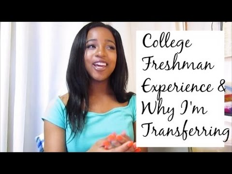 How come some freshmans in college can transfer?