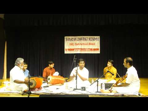 Carnatic Vocal Concert by Palghat Sri Ramprasd@SDK - RTP (Part2)