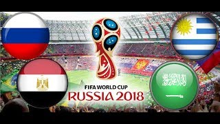 TURNIEJ PANINI FIFA WORLD CUP RUSSIA 2018 ROSJA - EGIPT , URUGWAJ - ARABIA SAUDYJSKA