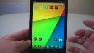 Nexus 7 2013 User Guide - The Basics