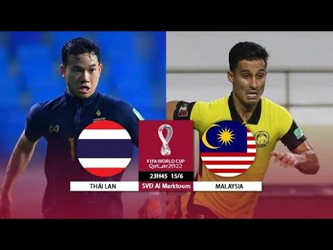 Highlights l Thái Lan - Malaysia l VL World Cup 2022 khu vực châu Á 15/6/2021