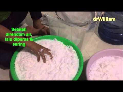 Cara membuat minyak kelapa yg benar (How to make coconut oil)