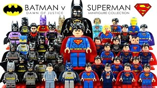 Batman v Superman: Dawn of Justice 2016 LEGO® Minifigure Collection DC Comics Super Heroes