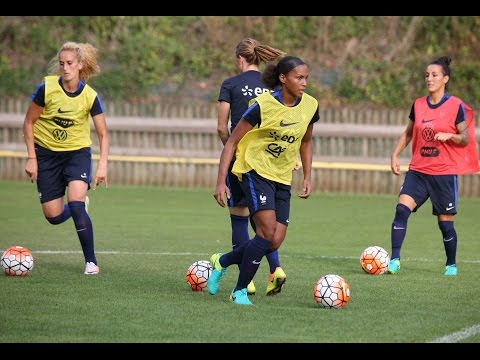 Equipe de France Féminine : premiers entraînements de la saison