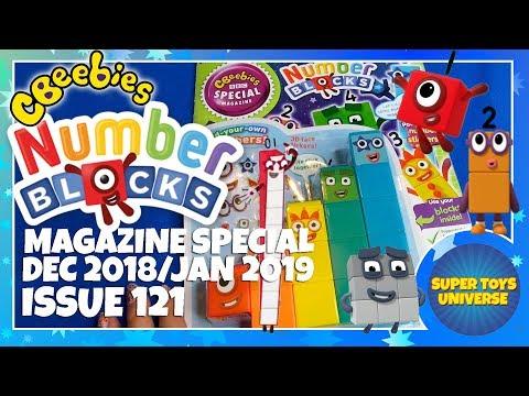 Numberblocks CBeebies Magazine Issue 130