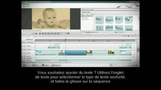 Français: Édition de vidéos multipistes avec gestion complète des images-clés