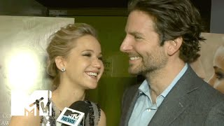 Jennifer Lawrence & Bradley Cooper Talk 'Serena' & Working Together Again | MTV News