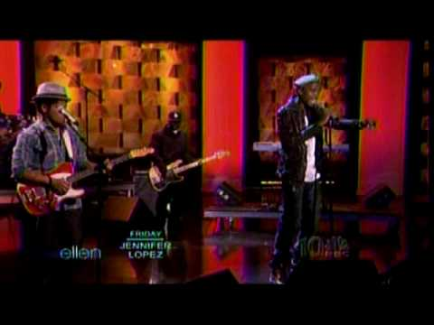 BoB ft Bruno Mars  Nothin on You  The Ellen Show
