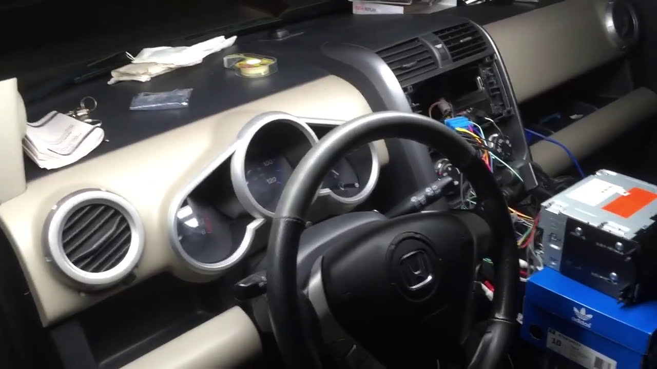 2004 honda civic stereo wiring diagram install pioneer avic 5200nex in a 2008    honda    element ex  install pioneer avic 5200nex in a 2008    honda    element ex