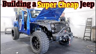 """Building a Cheap Knockoff Jeep- Copying the $110,000 Starwood Motors """" Full Metal Jacket"""""""
