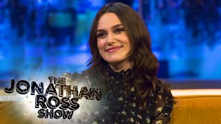 Keira Knightley On The Life Of Alan Turing - The Jonathan Ross Show