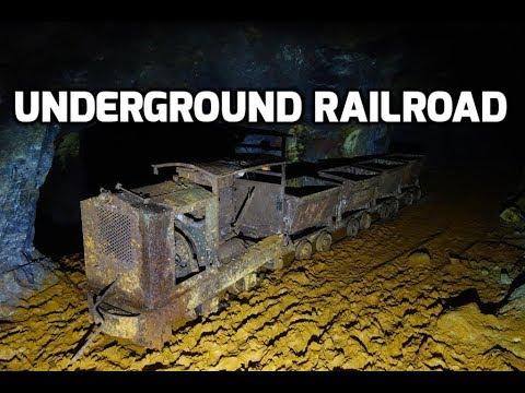 Buca Della Vena Mine – Part 2: Discovered Underground Mine Train!
