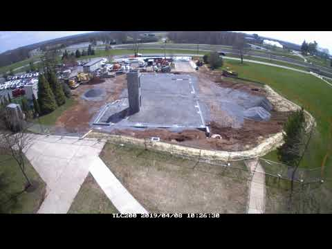 Student Venue construction at Mount St. Mary's University