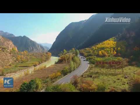 Breathtaking views of China's Qilian Mountains in four seasons