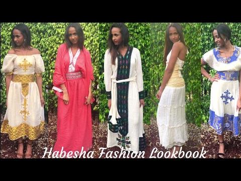 Habesha Fashion Lookbook (Zuria