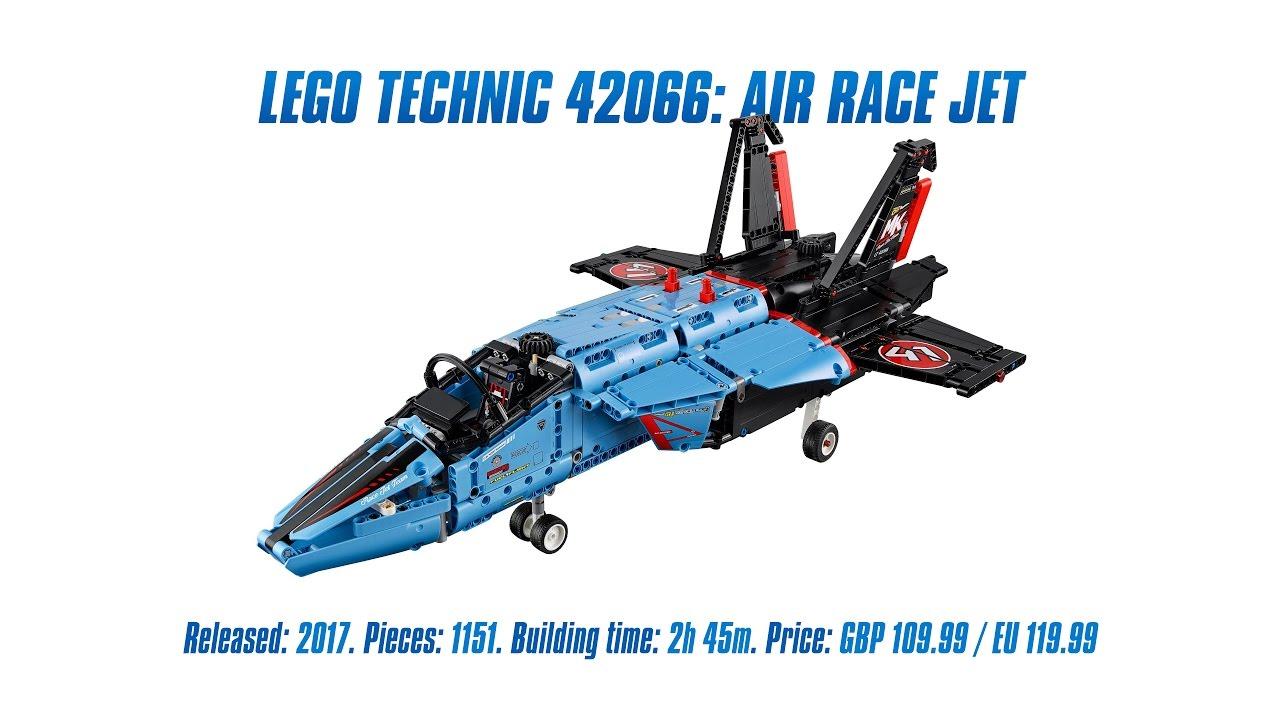 lego technic 42066 air race jet unboxing speed build. Black Bedroom Furniture Sets. Home Design Ideas