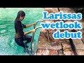 Larissas wetlook debut