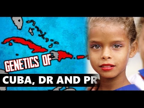 What Race are People from the Hispanic Caribbean (Genetics of Puerto Rico, Cuba, Dominican Republic)