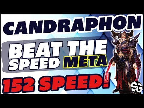 152 speed CANDRAPHON BEAT THE SPEED META RAID SHADOW LEGENDS CANDRAPHON GUIDE 2.2 UPDATED