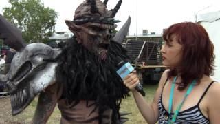 Gwar (Oderus Urungus) Interview: Soundwave TV 2014