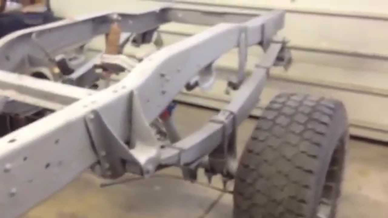 Great Lakes media blasting truck frame sandblasting  YouTube