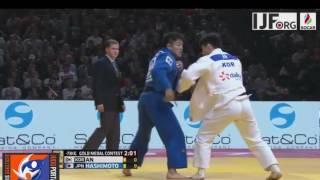 Judo Grand Slam Paris 2017 Final -73kg AN Changrim (KOR) vs. HASHIMOTO Soichi (JPN)