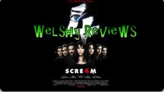 Welshy Reviews Scream 4
