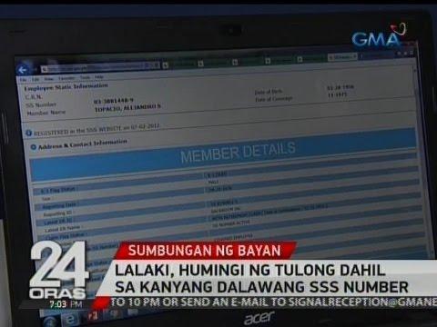 24 Oras: Lalaki, humingi ng tulong dahil sa kanyang dalawang SSS number