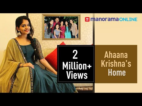 Actor Ahaana Krishna and family shares fond memories of their house