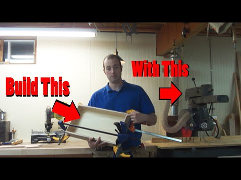Build A Drawer Using Only A Radial Arm Saw!