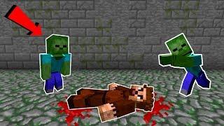 FAKİRİ ZOMBİLER ISIRDI! 😱 - Minecraft