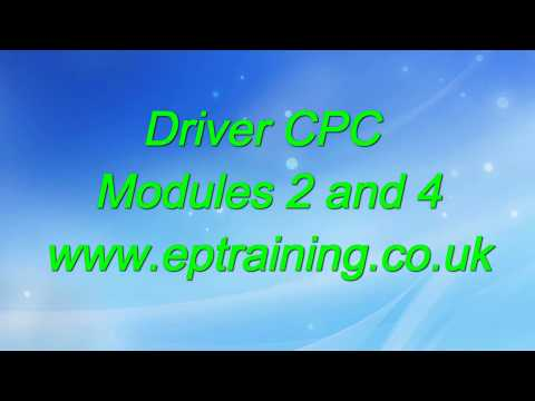 Driver CPC Modules 2 and 4